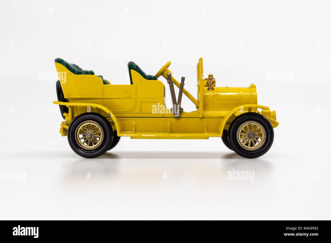 Matchbox Models of Yesteryear Y-6 Spyker Tourer 1904 - Stock Image
