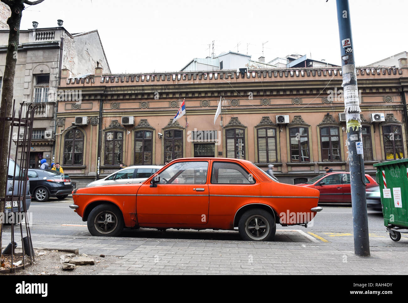 opel in Belgrade - Stock Image