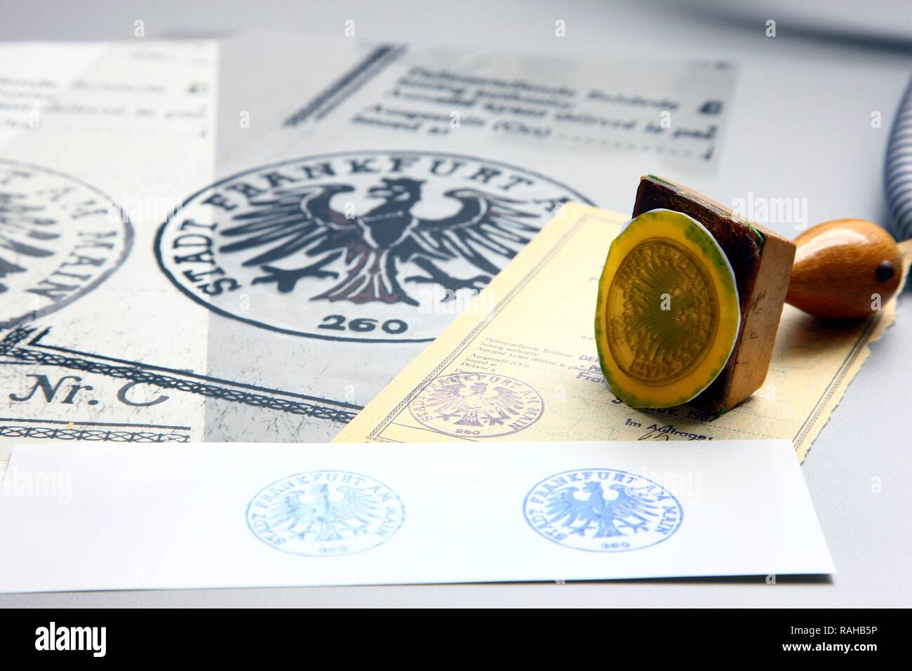 Kriminaltechnisches Institut, KTI, Forensic Science Institute, documents department, verification of documents to detect - Stock Image