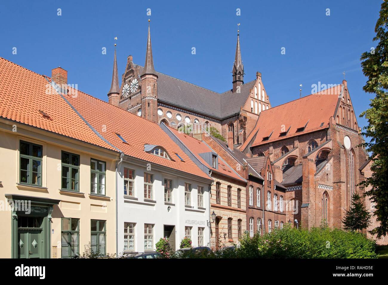Georgen Church, Wismar, Mecklenburg-Western Pomerania - Stock Image