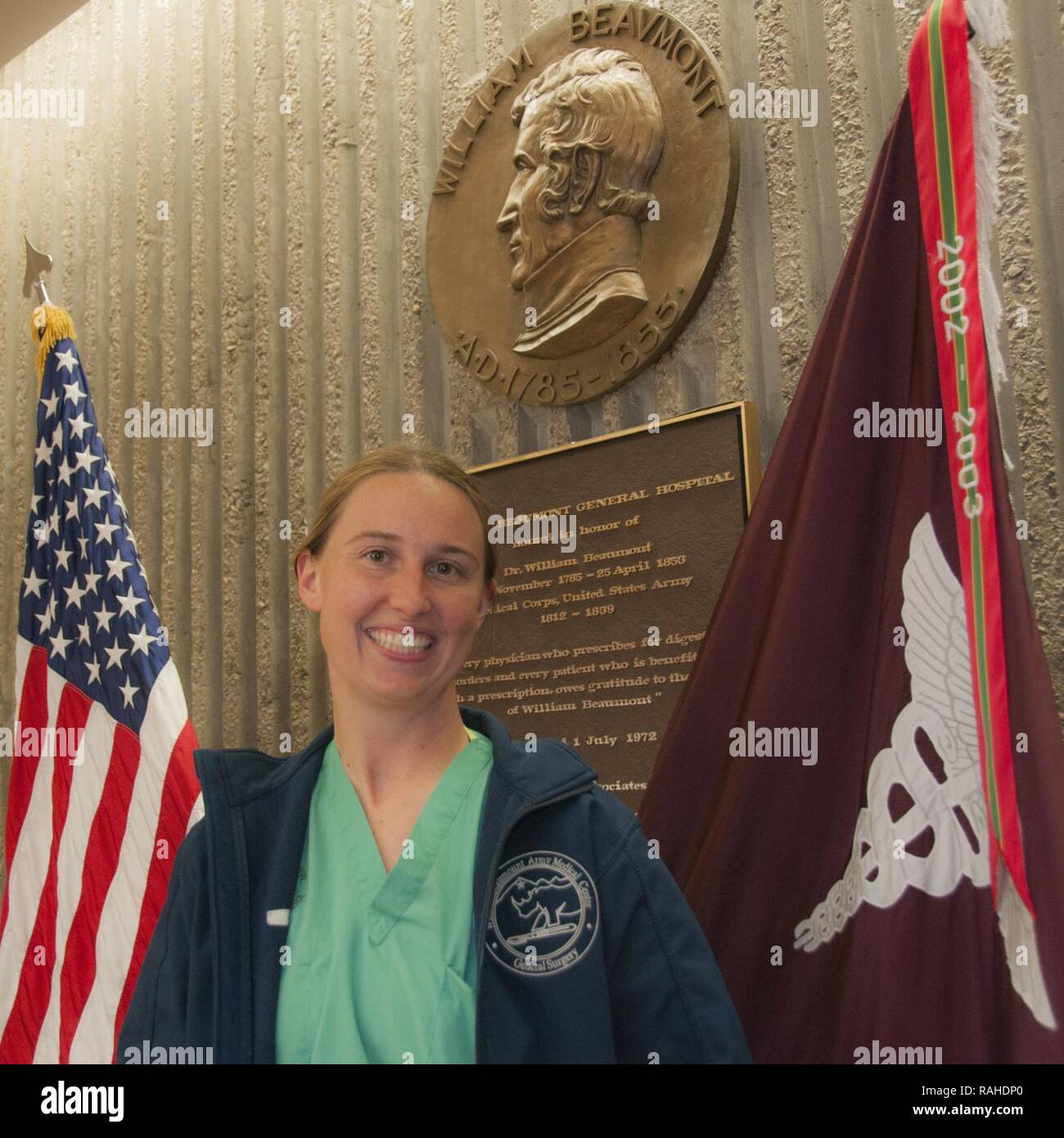 Capt  Elaine Cleveland, chief resident, General Surgery Residency