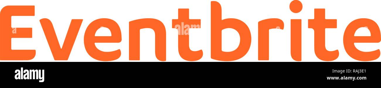 Eventbrite Logo, Event and Ticket Website, Germany - Stock Image