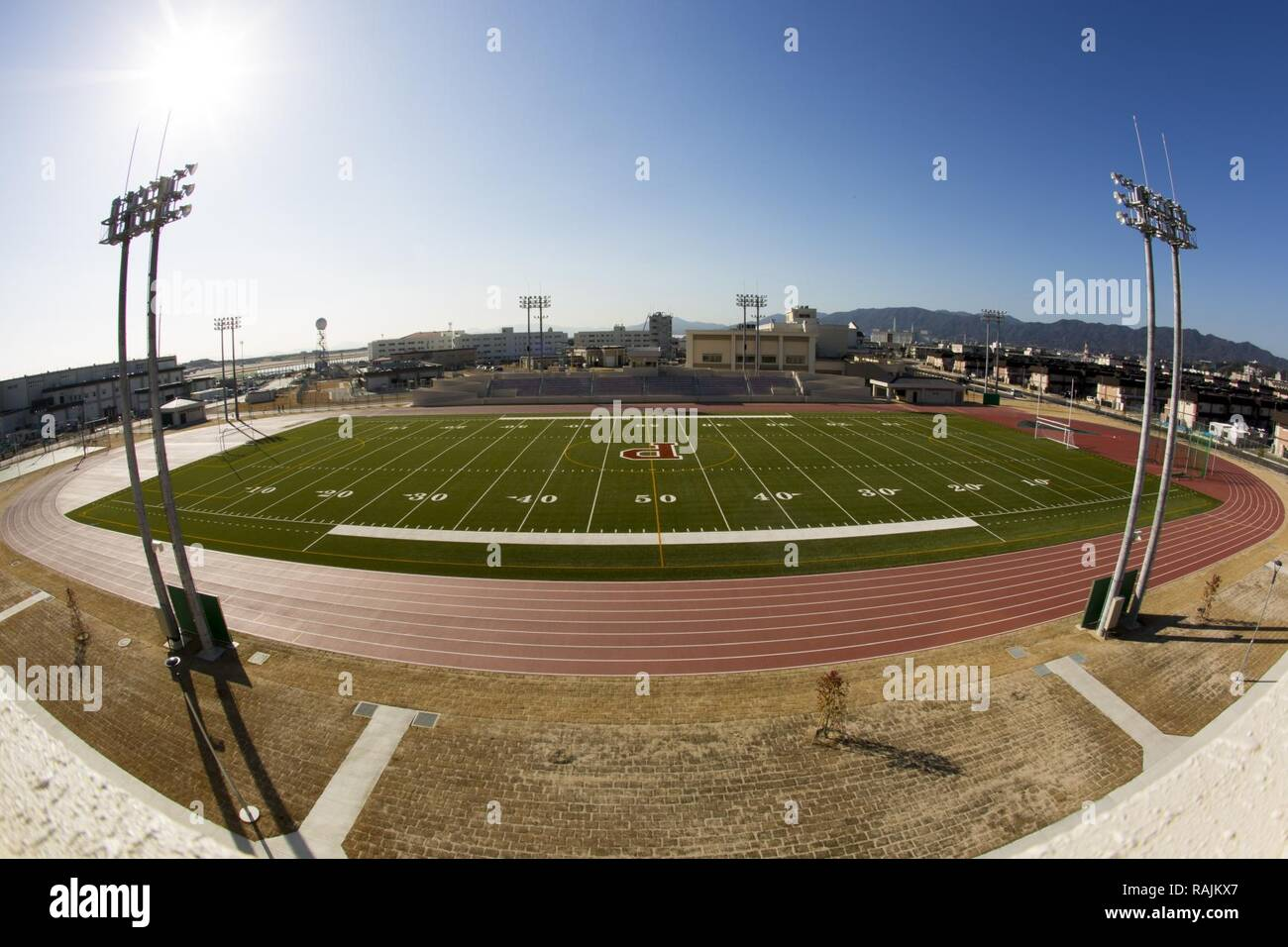 The Matthew C Perry High School Track And Field Opened Jan 20 2017 At Marine Corps