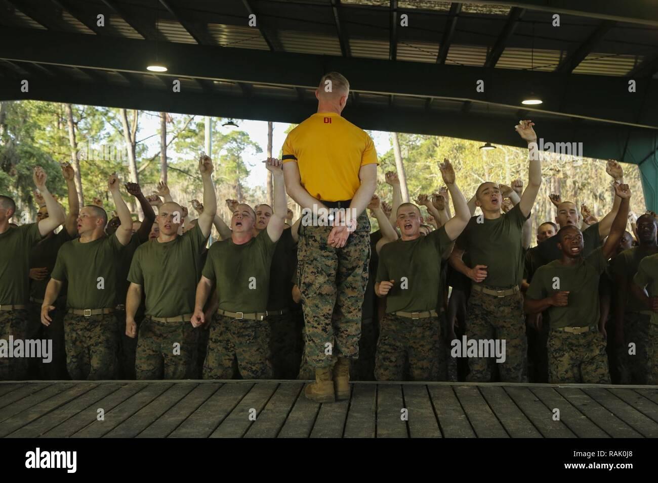 Marine Corps Drill Instructor Staff Stock Photos & Marine Corps