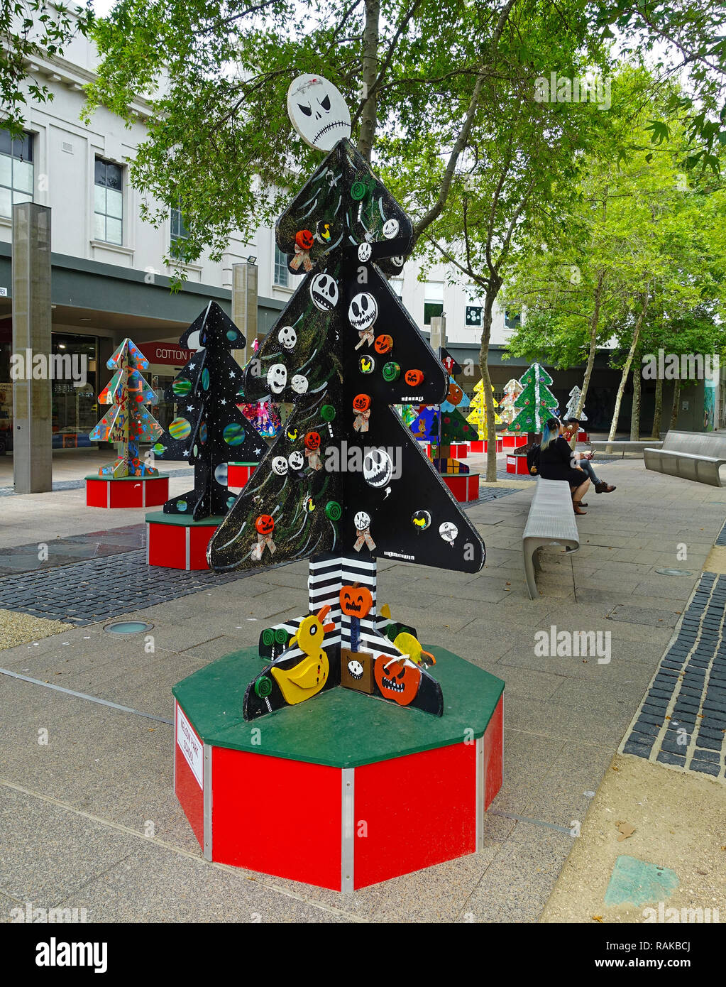 Christmas in Australia 2 - Stock Image