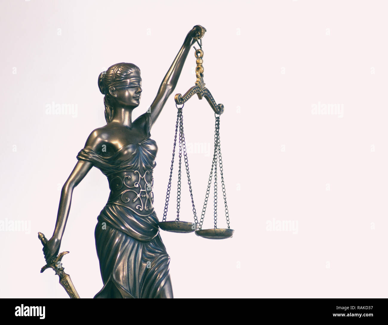 Legal law social justice concept image - Stock Image