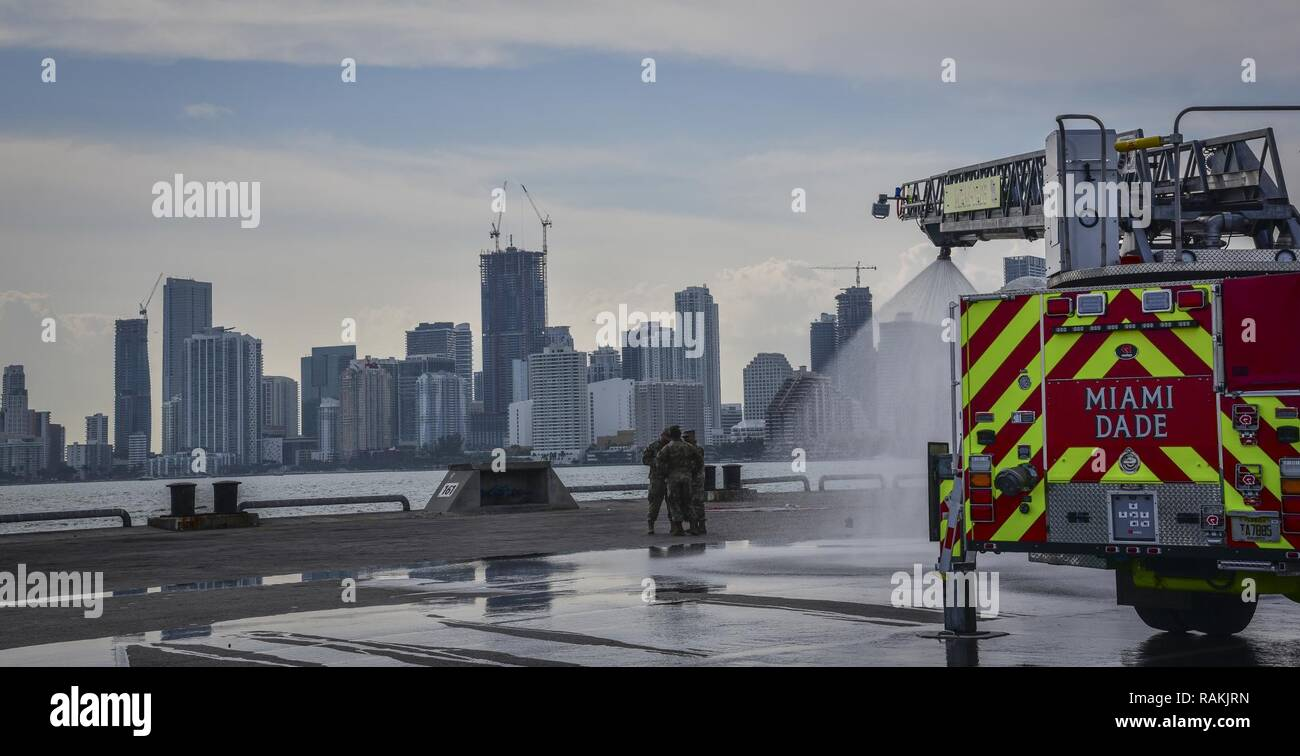 Decontamination Fire Truck High Resolution Stock Photography And Images Alamy
