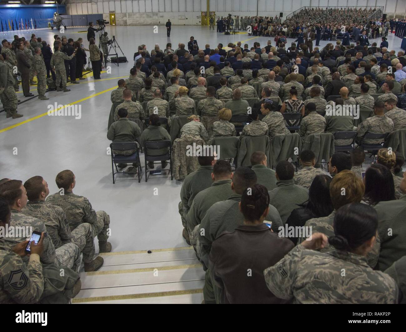 Airman attend the Chief Master Sergeant of the Air Force