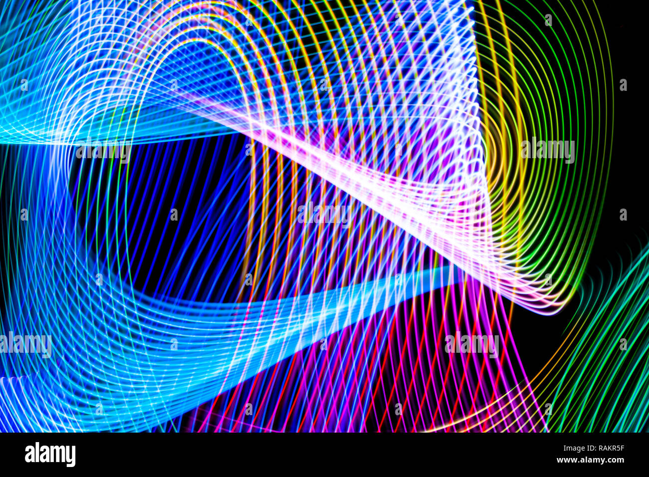 Abstract Background Of Colored Red Pink Yellow Green And Blue Stripes The Concept Of Geometric Aesthetics Stock Photo Alamy