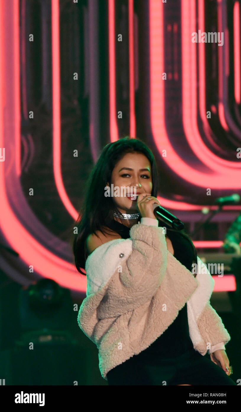 Neha Kakkar High Resolution Stock Photography And Images Alamy