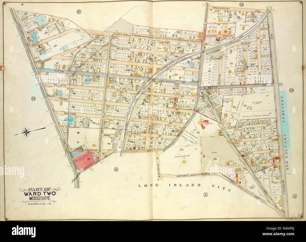 Queens, Vol. 2, Double Page Plate No. 15, Part of Ward Two Woodside on missouri city map, caldwell map, manor map, plano map, katy map, nacogdoches map, galveston map, temple map, lackland map, kingwood map, wichita falls map, iran map, weslaco map, granbury map, kelly new mexico, andrews afb map, schertz map, league city map, new braunfels map, port isabel map,