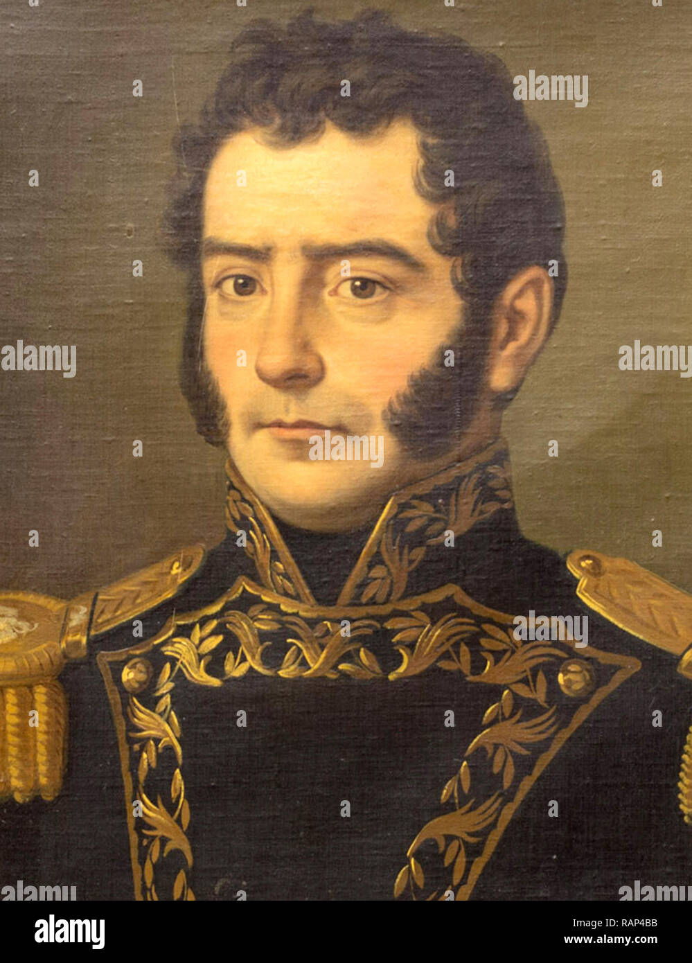 Melchor de Eca y Múzquiz (1790 – 1844)  5th president of Mexico. - Stock Image