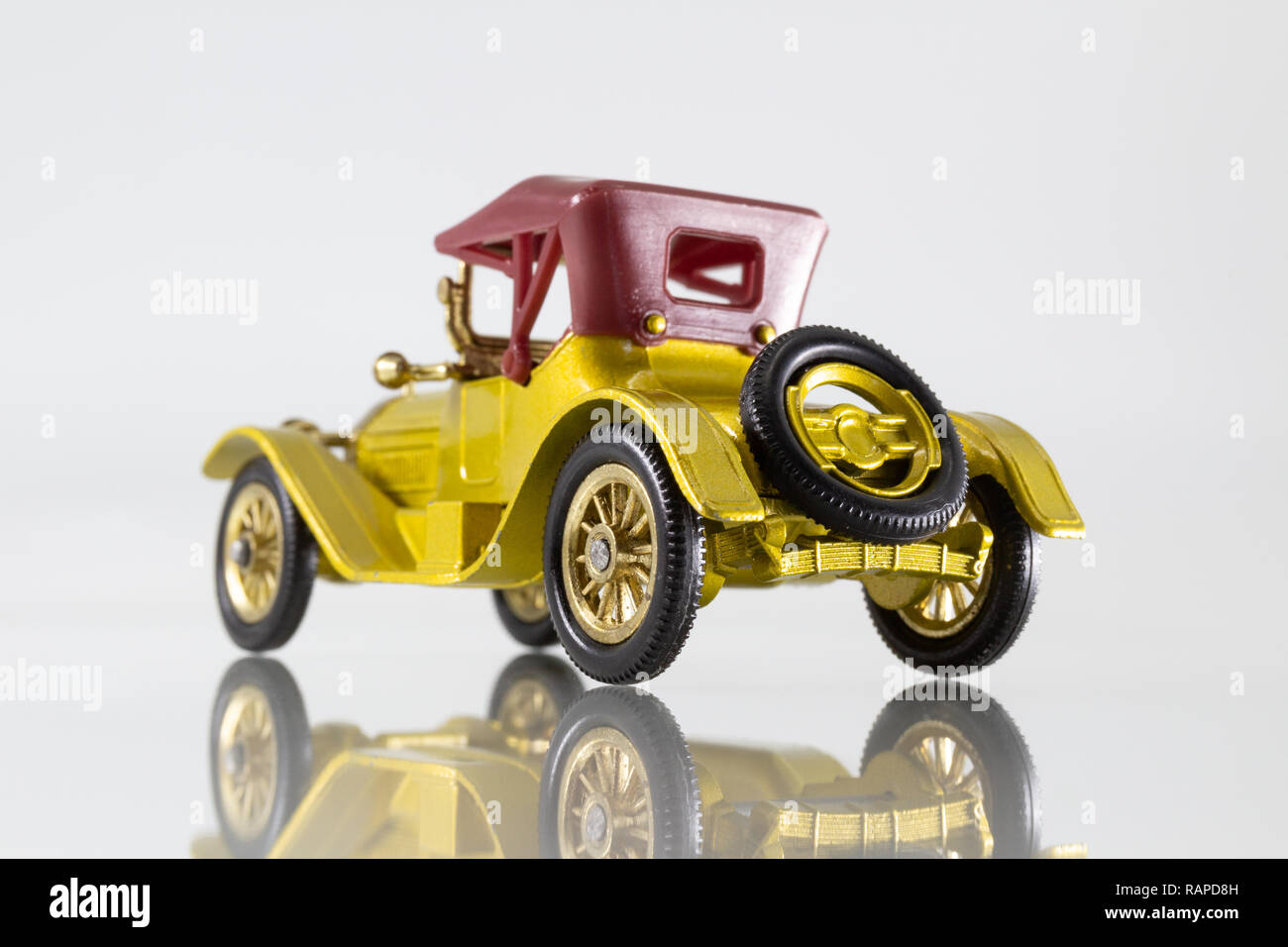 Matchbox Models of Yesteryear Y-6 Cadillac 1913 Stock Photo