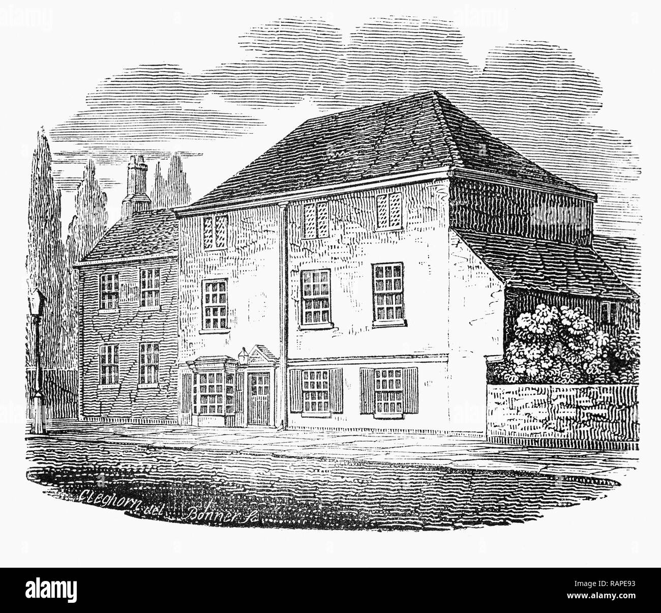 By The Early 17th Century Upper Street In Islington In London England Had A Sprinkling