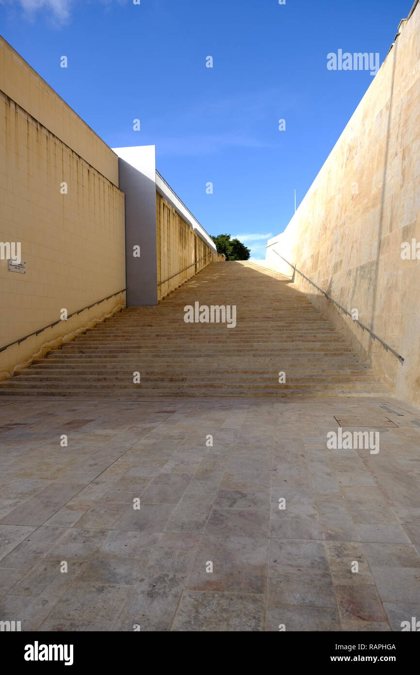 Valletta, Malta, George Cross Island. General views. Stock Photo
