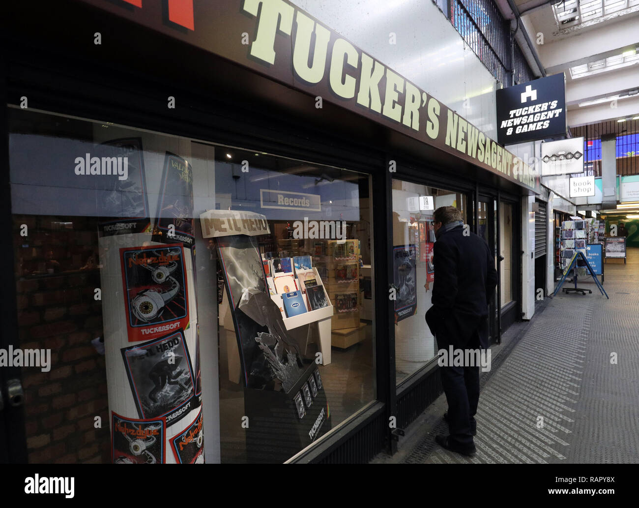 The faux pop up store in Old Street, London, featuring