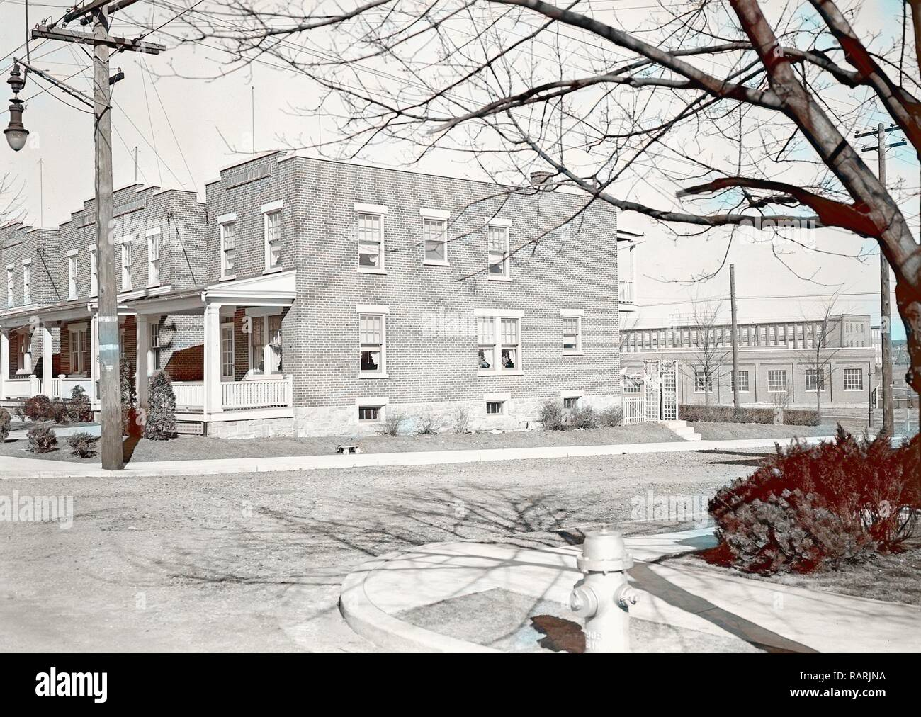 Lancaster, Pennsylvania - Housing  Stehli workers' houses