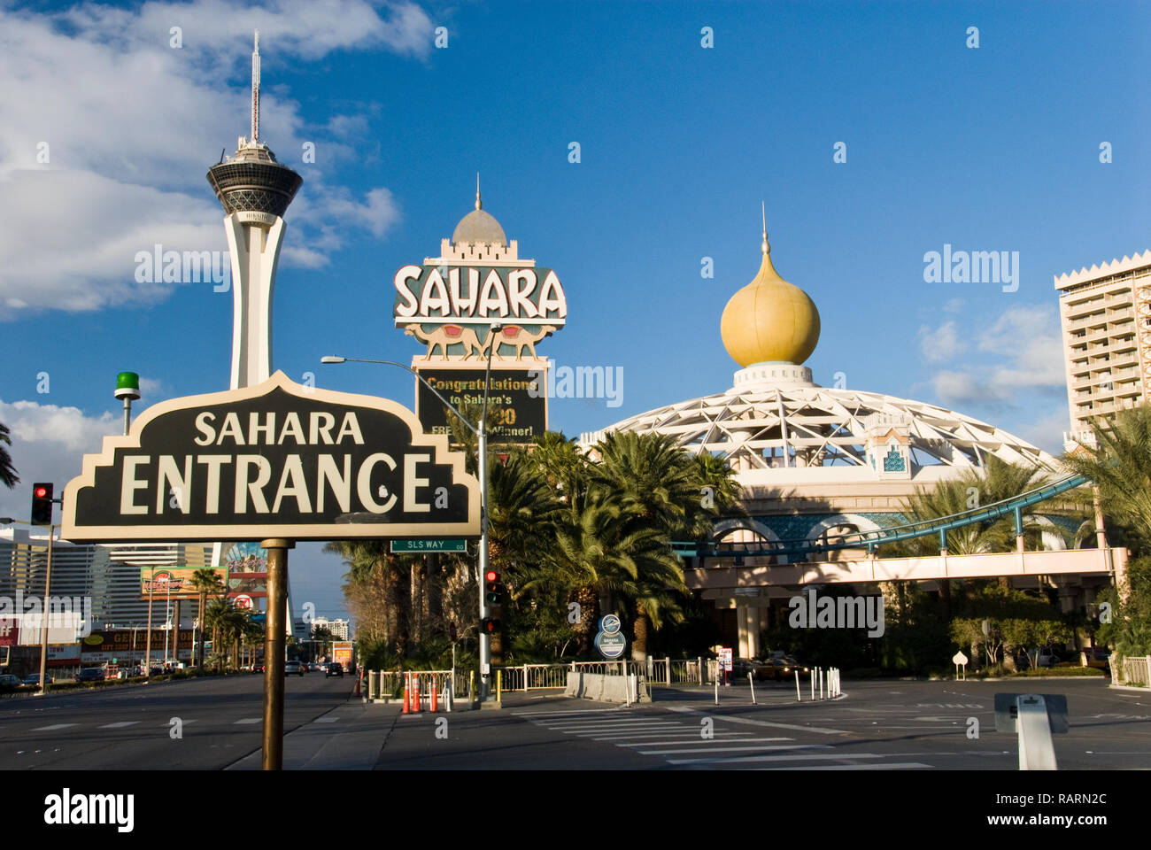 Sahara Hotel Casino High Resolution Stock Photography And Images Alamy