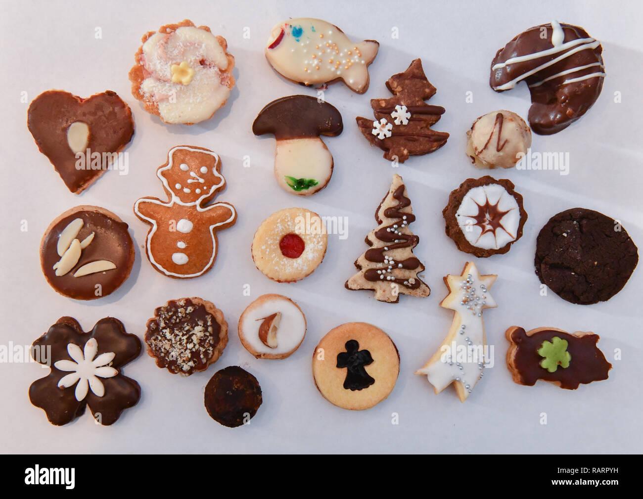Weihnachtskekse Engelsaugen.Weihnachtsgebäck Stock Photos Weihnachtsgebäck Stock Images Alamy