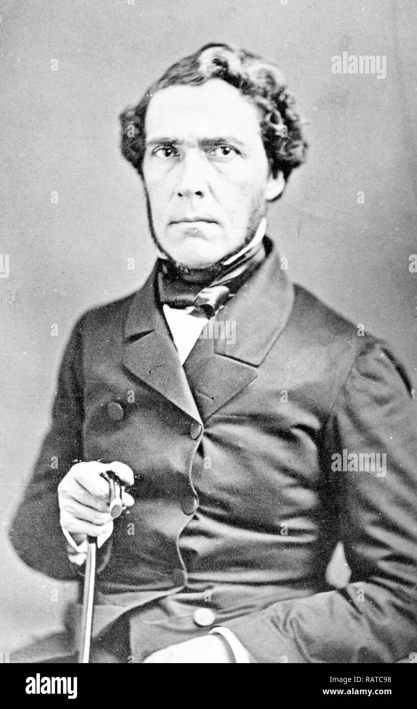 Juan Bautista Ceballos (1811 — 1859) 20th president of Mexico - Stock Image