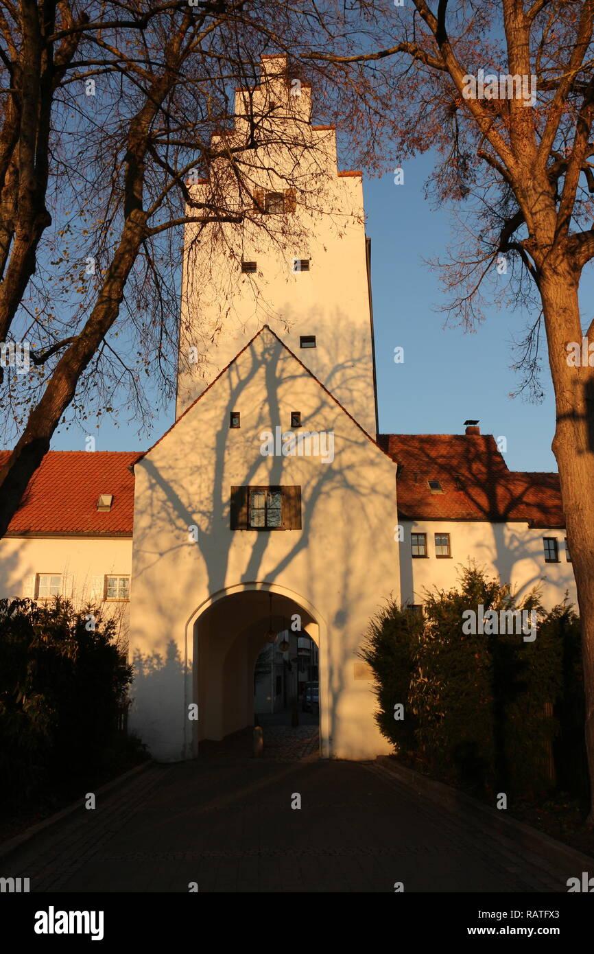 Im Zentrum von Ingolstadt in Bayern - Stock Image