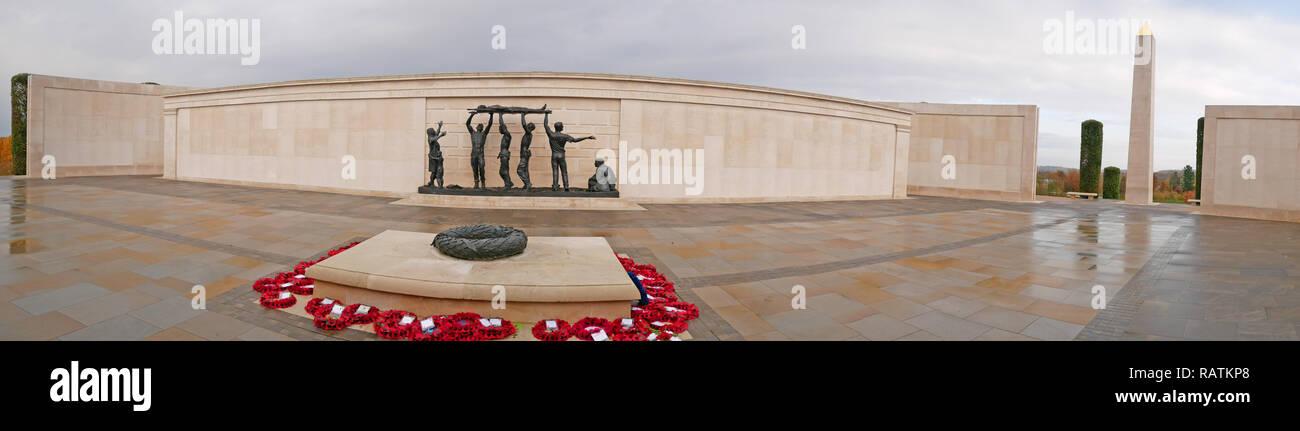 Shot at dawn memorial. - Stock Image