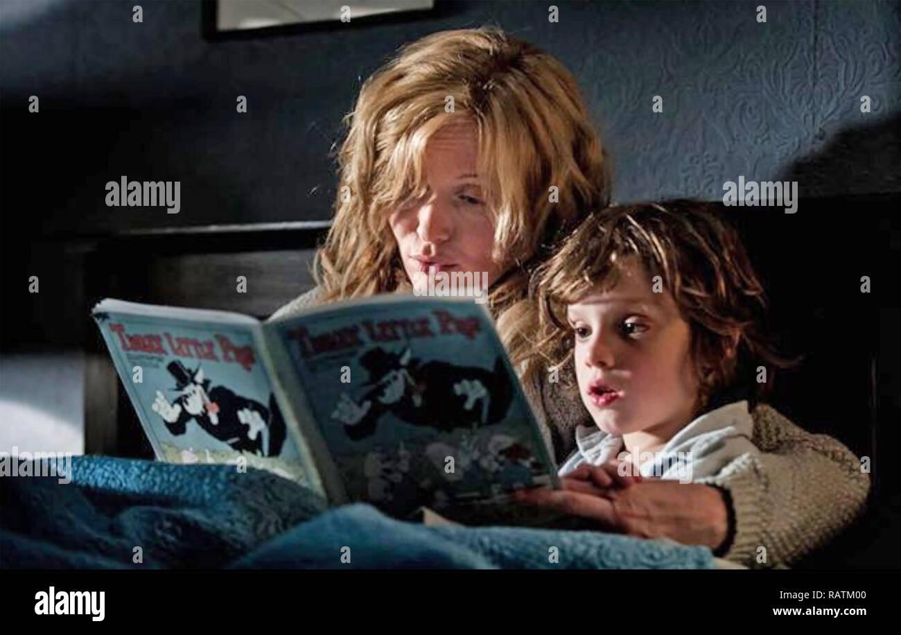 THE BABADOOK 2014 Screen Australia film with  Essie Davis, and Noah Wiseman - Stock Image