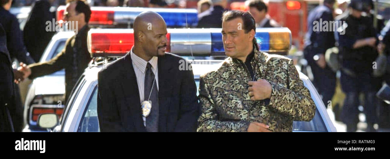 The Glimmer Man 1996 Warner Bros Film With Steven Seagal At