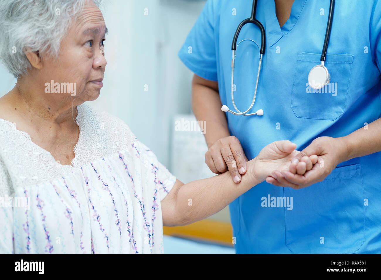Will asian nurse doctor hospital