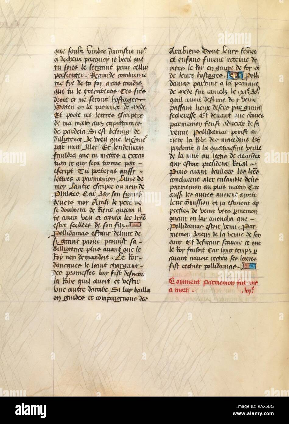 Text Page, Unknown, Lille (written), France, Europe, about