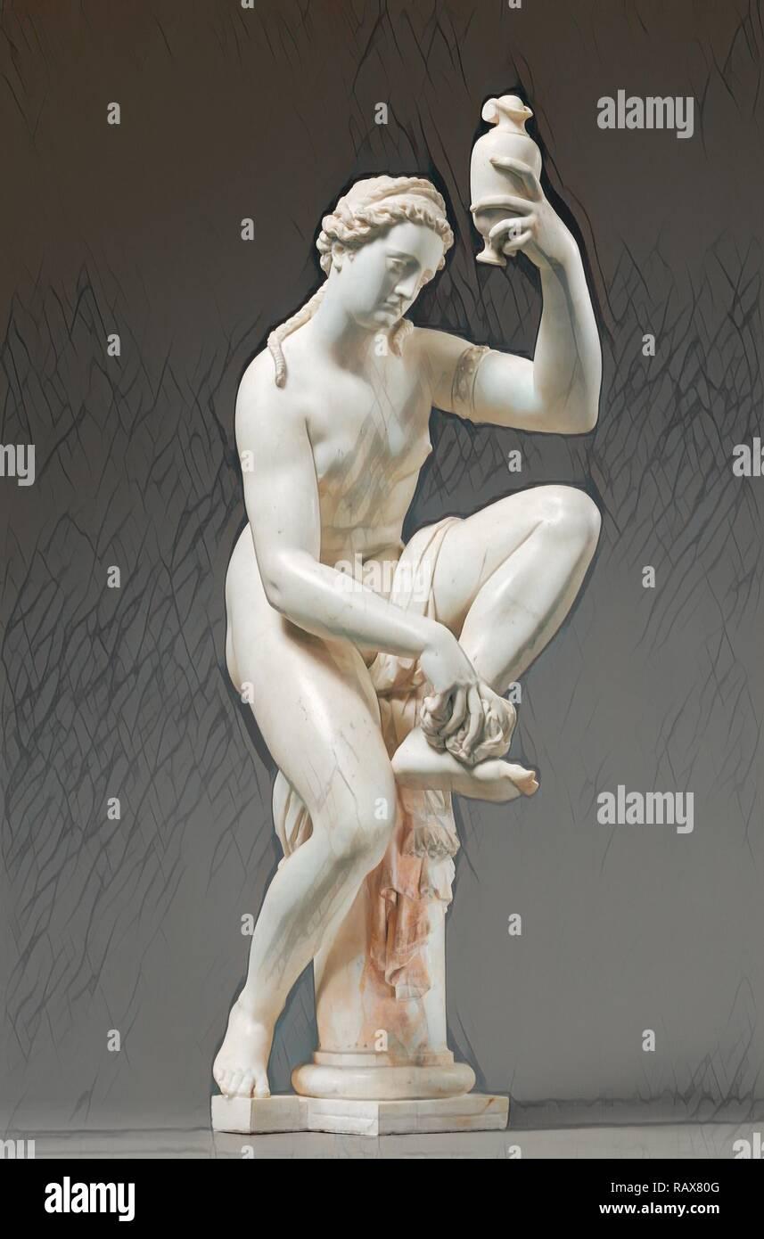 Female Figure (possibly Venus, formerly titled Bathsheba), Giambologna (Giovanni da Bologna or Jean de Boulogne reimagined - Stock Image