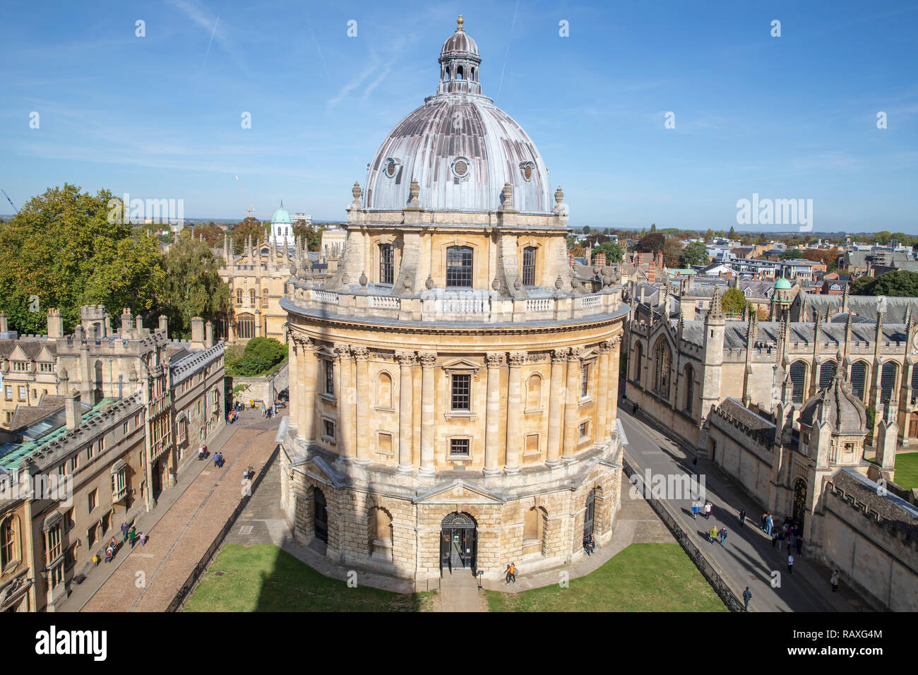 The Radcliffe Camera in Oxford, England. Stock Photo