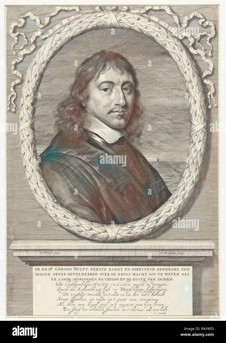 Portrait Of Gerard Hulft Abraham Bloteling Joost Van Den