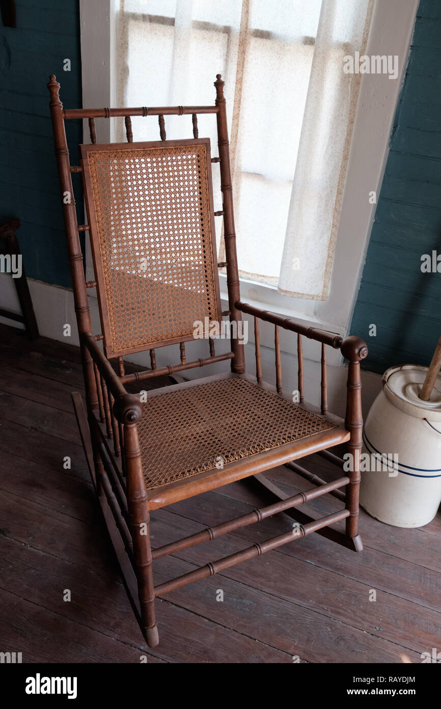 Fine Cane Rocking Chair Stock Photos Cane Rocking Chair Stock Unemploymentrelief Wooden Chair Designs For Living Room Unemploymentrelieforg