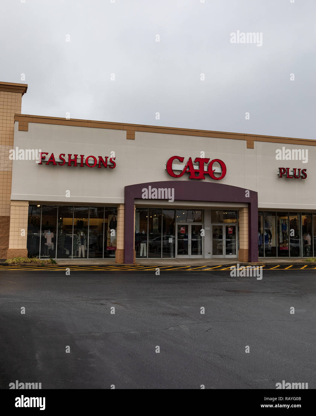Hickory Nc Usa 1319 Catos Is An American Retailer Of Womens