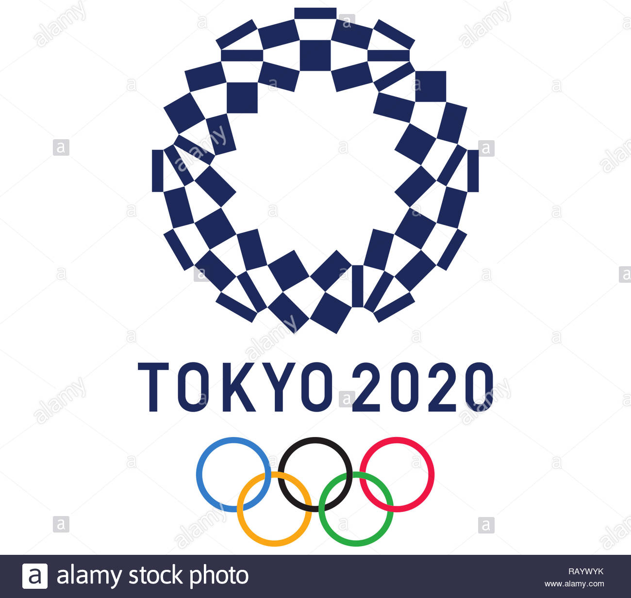 2020 Olympic Games.Tokyo 2020 Olympic Games Logo Stock Photo 230494423 Alamy