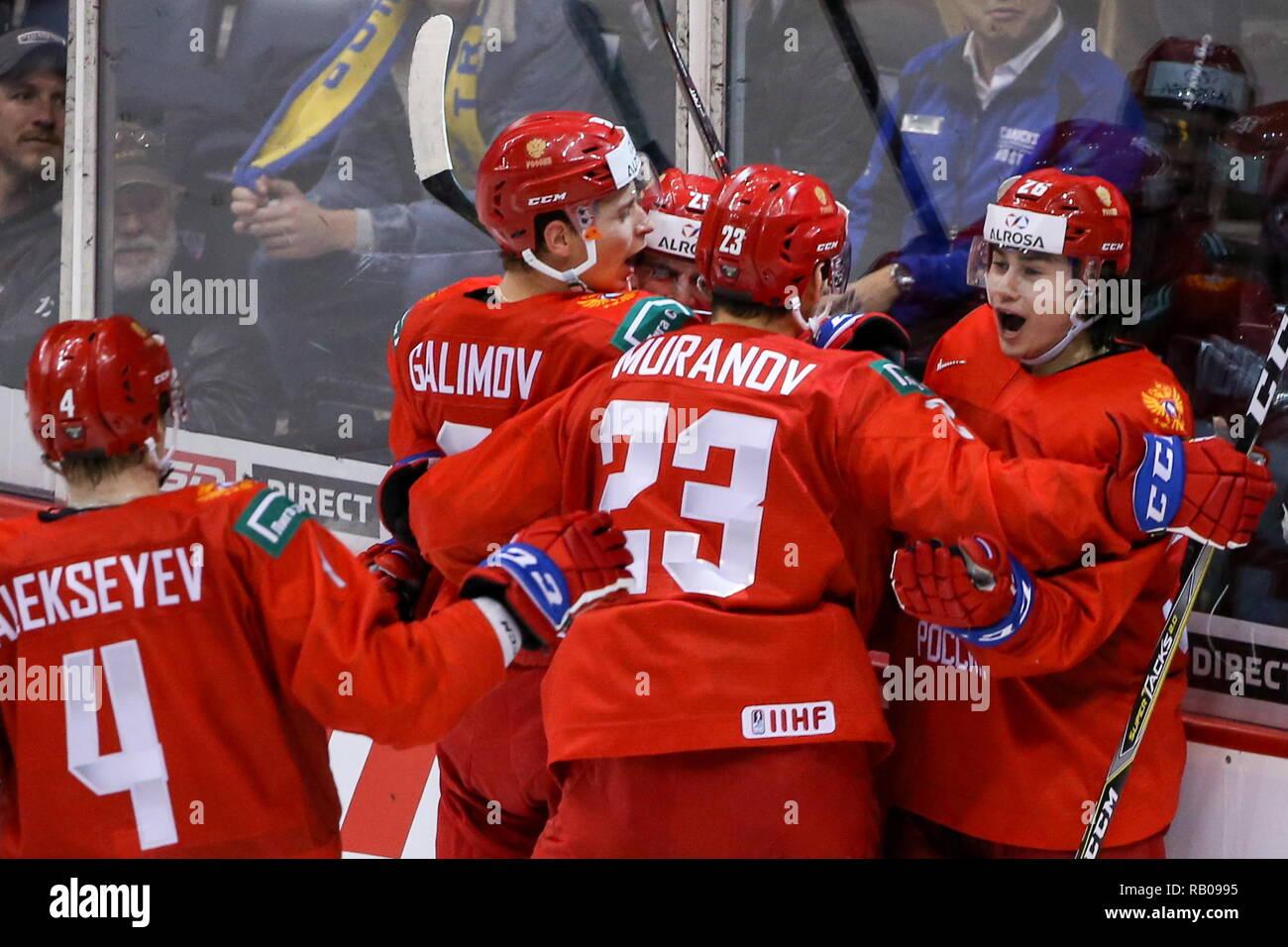 World Junior Hockey Championships Stock Photos World Junior Hockey