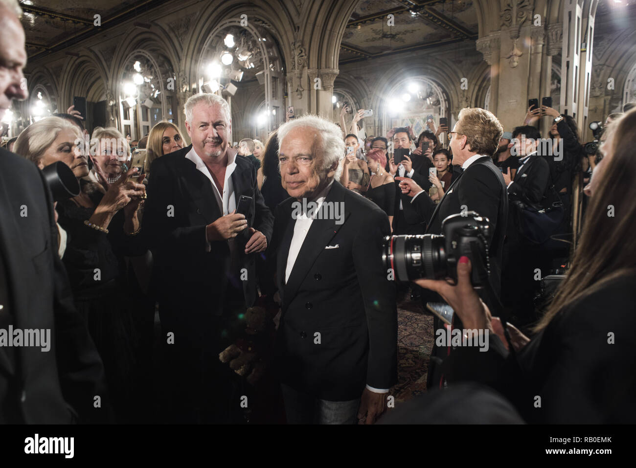 Fashion Designer Ralph Lauren Walks The Runway For Ralph Lauren Fashion Show During New York Fashion Week On September 7 2018 In New York City 7th Sep 2018 Credit Wonwoo Lee Zuma Wire Alamy