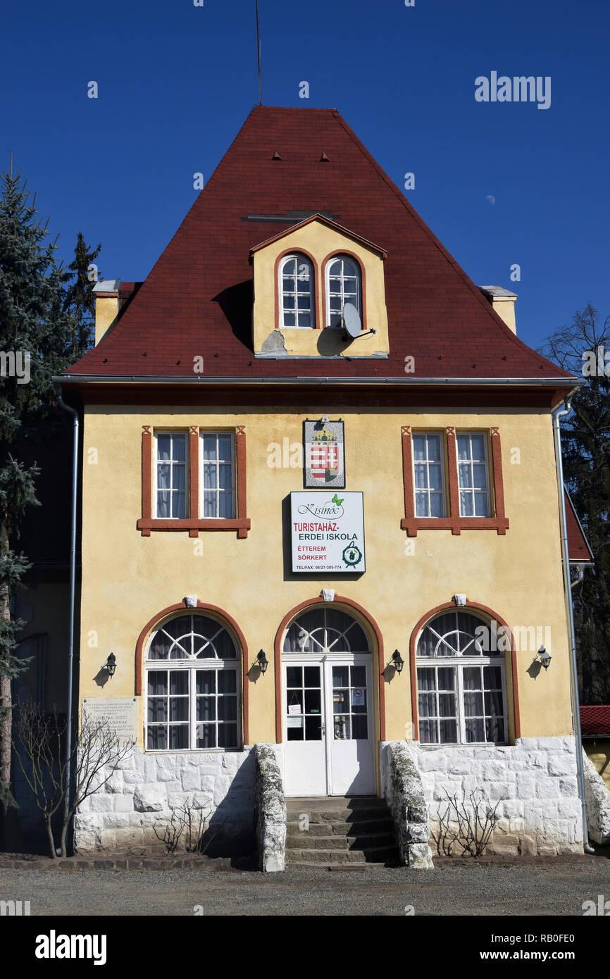 Hütten, Kisinóc, Hungary - Stock Image
