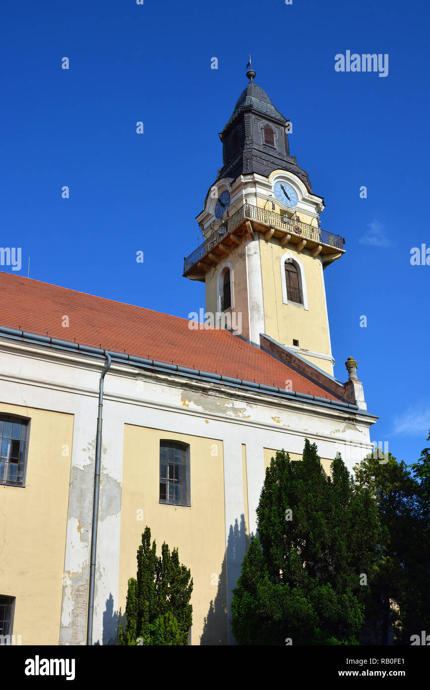 Reformed Church, Kisújszállás, Hungary - Stock Image