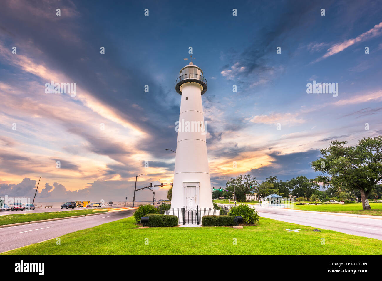 Beach Biloxi Mississippi High Resolution Stock Photography And