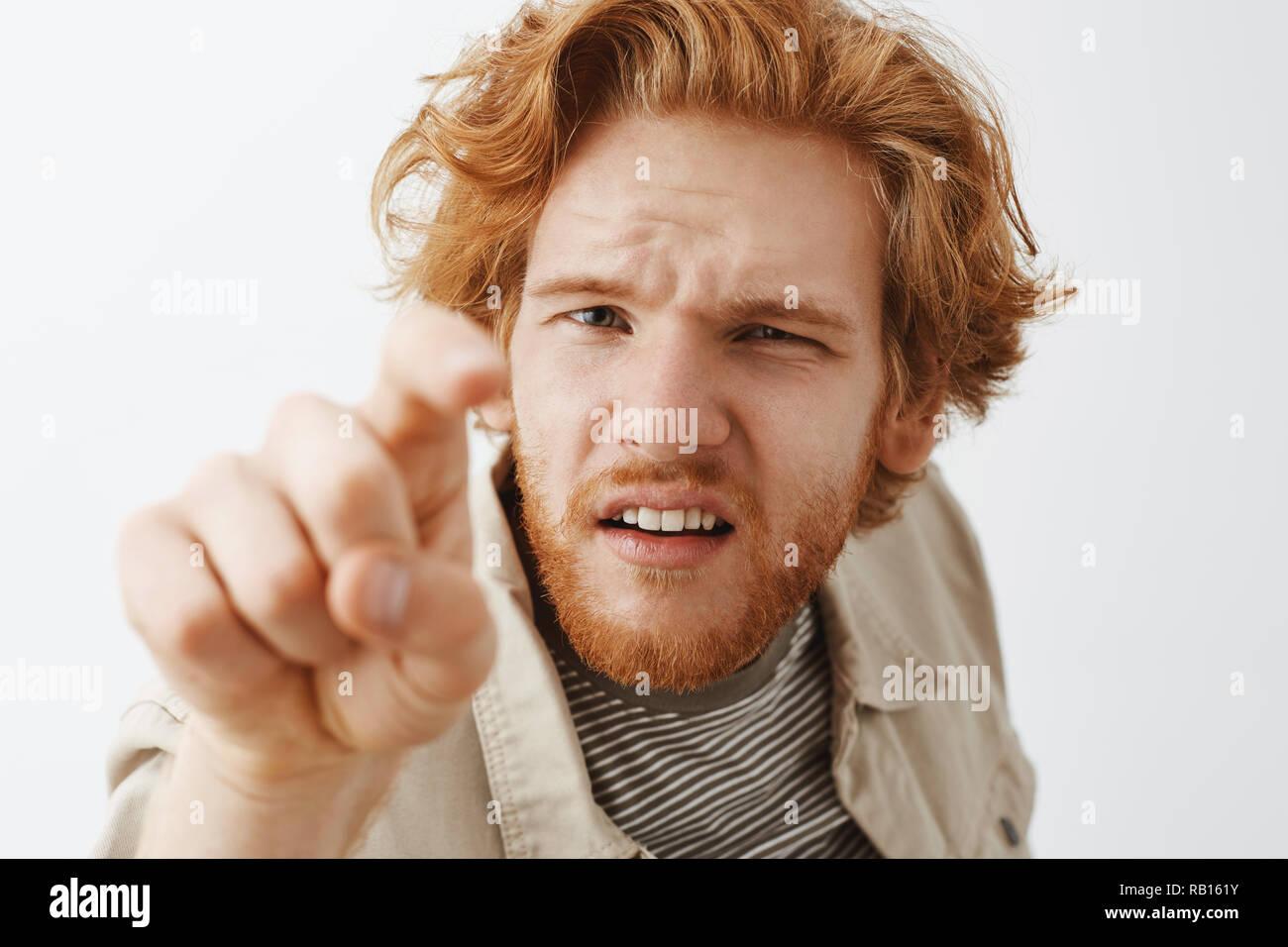Redhead nymphet poked