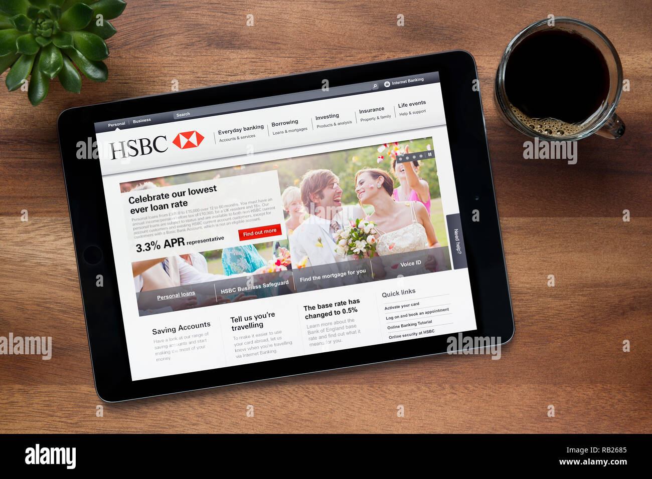 Hsbc Online Stock Photos & Hsbc Online Stock Images - Alamy