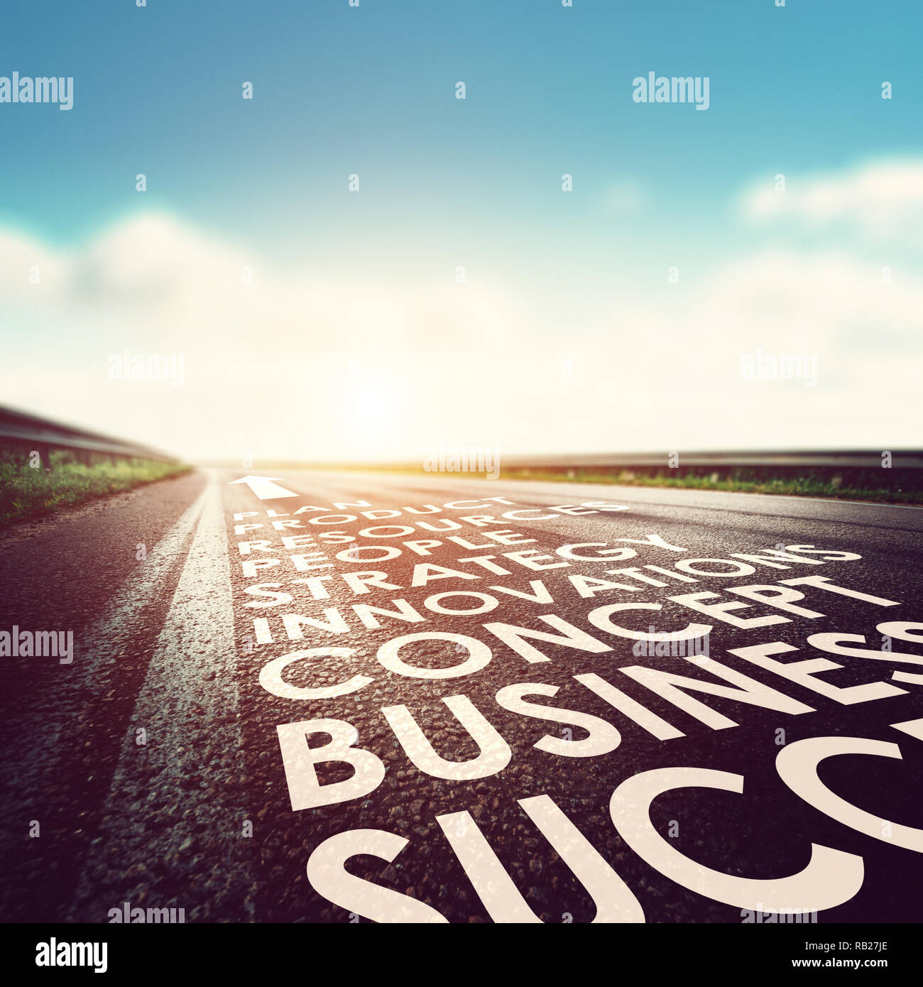 Business success concept - Stock Image