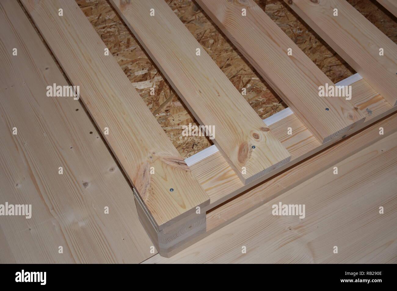 Rost Lattenrost Holz Palette Europalette Bett Unterbau Podest