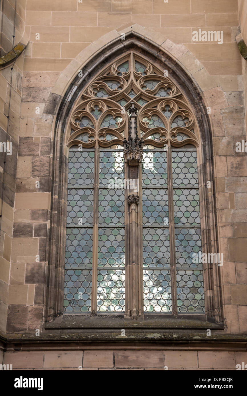 Window of an old historical building - Stock Image