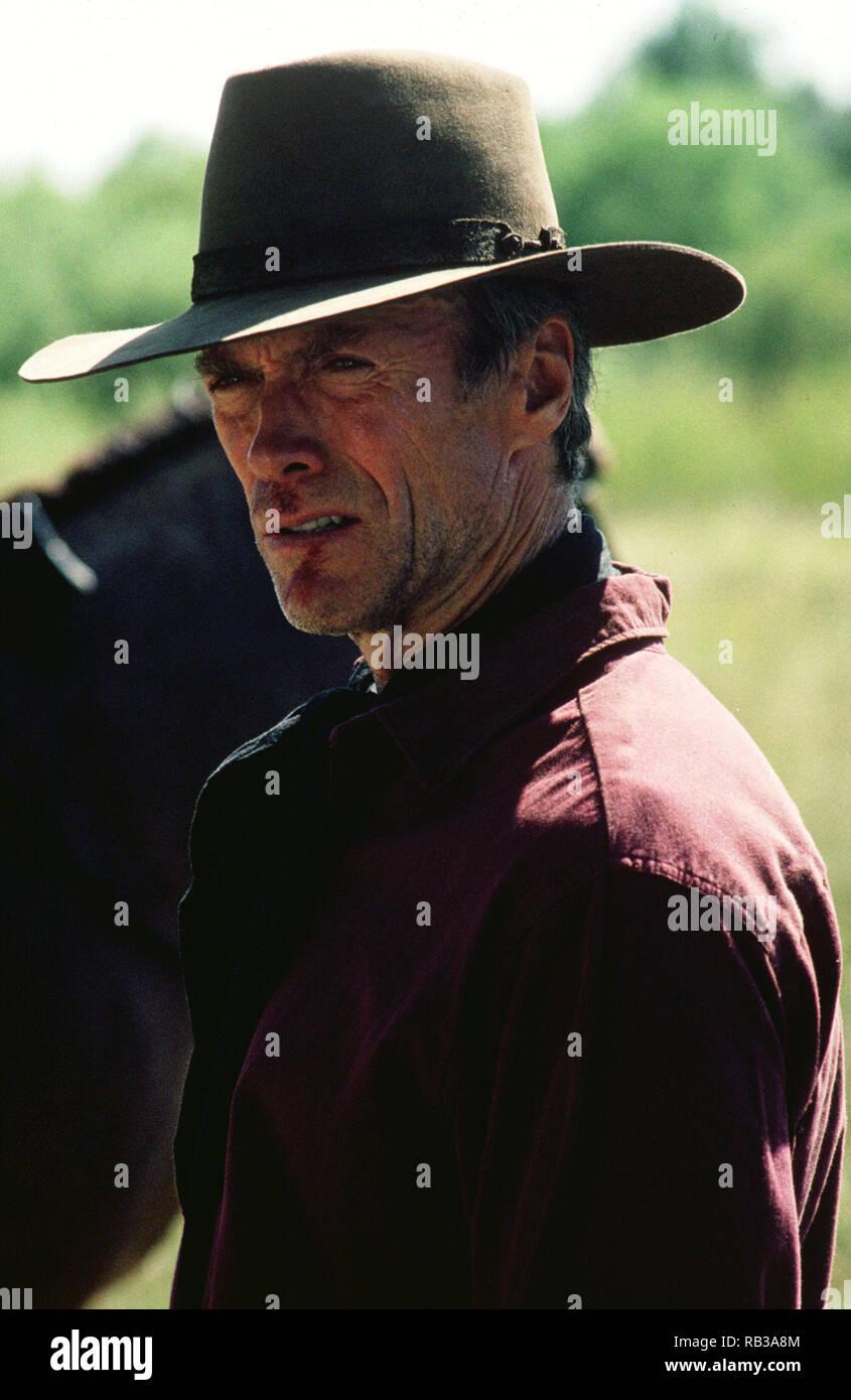 Original film title: UNFORGIVEN. English title: UNFORGIVEN. Year: 1992. Director: CLINT EASTWOOD. Stars: CLINT EASTWOOD. Credit: WARNER BROTHERS / Album - Stock Image