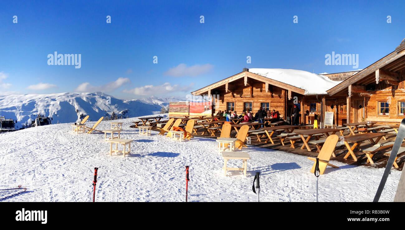 Bärenbadalm, Kitzbühel, Austria - Stock Image