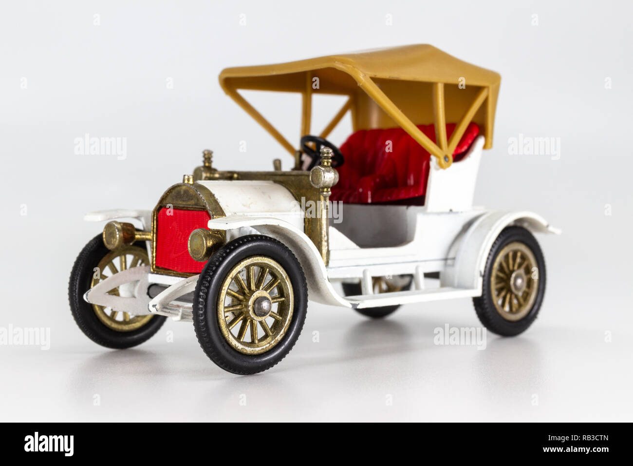 Matchbox Models of Yesteryear Y-4 Opel Coupe 1909 - Stock Image