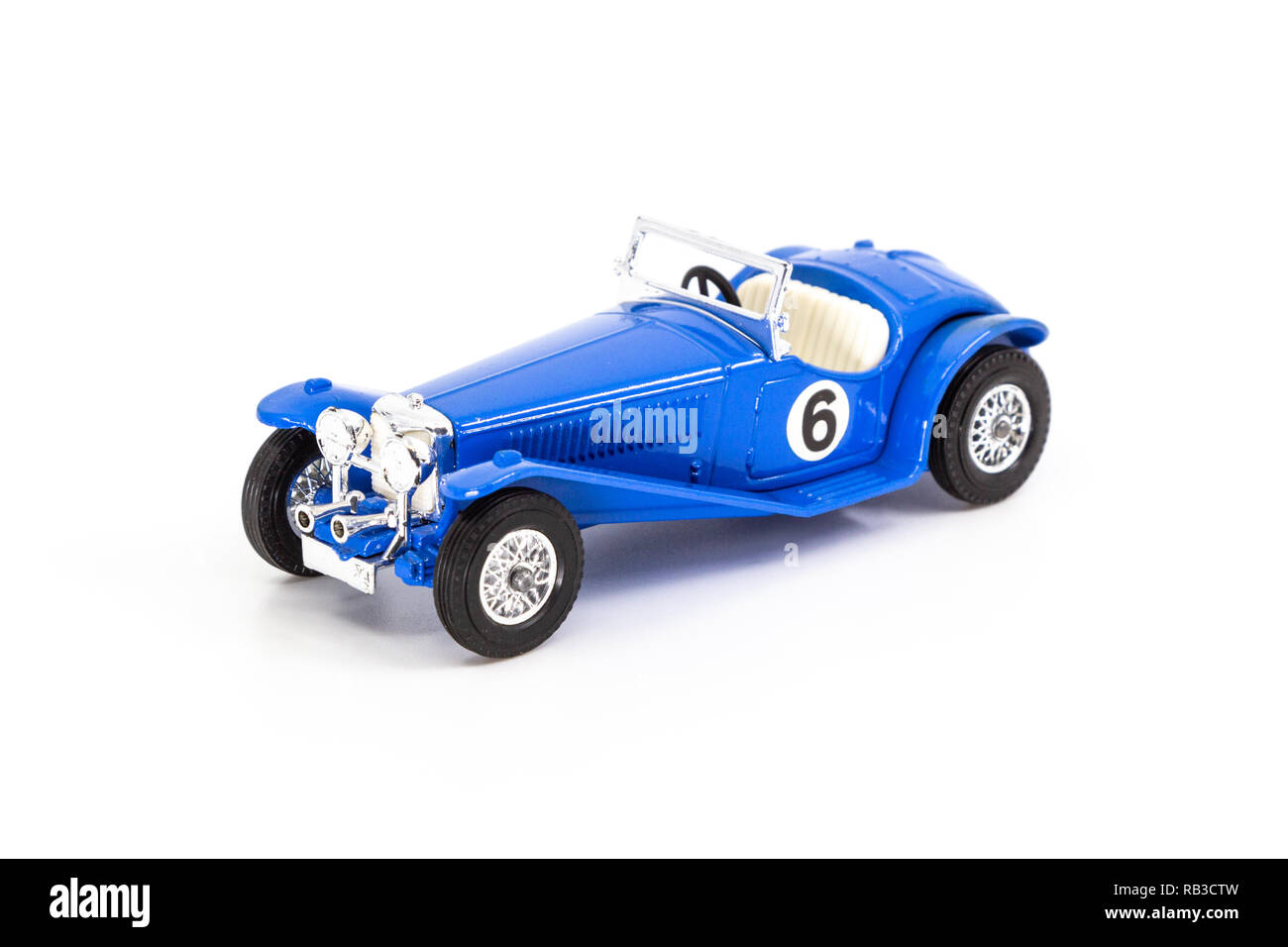 Matchbox Models of Yesteryear Y-3 Riley MPH 1934 Stock Photo